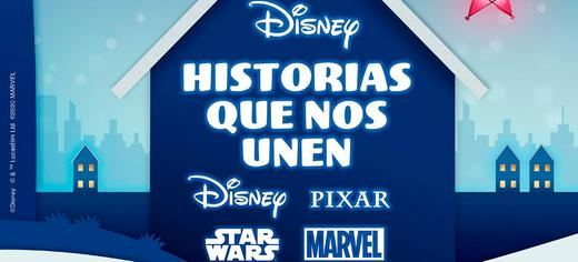 El Corte Inglés y Disney cierran un acuerdo histórico en su campaña de Navidad 'Historias que nos unen'