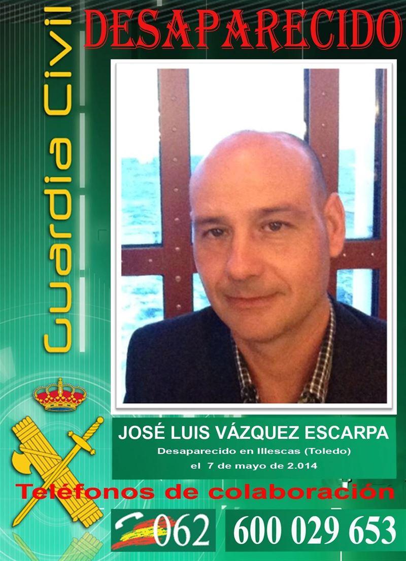 La Guardia Civil ya ha conseguido 'algunas pistas' sobre el empresario desaparecido en Illescas
