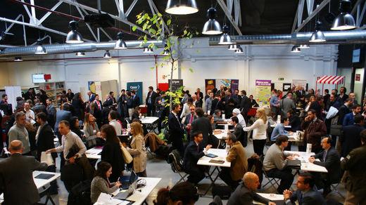 Los emprendedores se ven las caras en el VIII Encuentro Comercial de AJE Madrid
