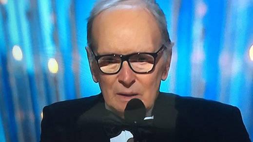 Ennio Morricone, a sus 87 años, consigue por fin un Oscar por una banda sonora