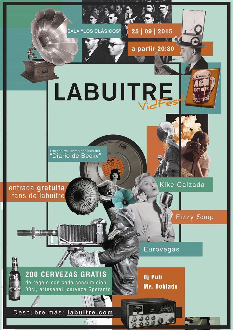 Toledo acoge el próximo viernes la IV edición de 'La Buitre VidFest',