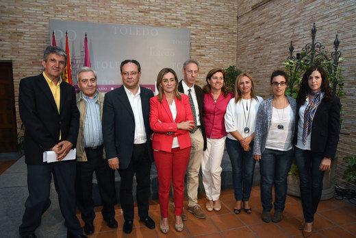 La alcaldesa de Toledo presenta a su equipo de Gobierno