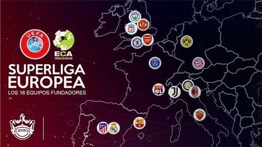 ¿Qué sucedió con la Superliga Europea?