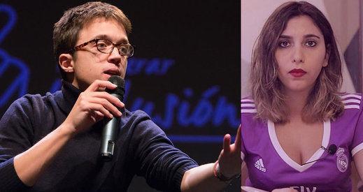 Errejón cuenta con una candidata en sus listas que no podría ocupar legalmente un escaño