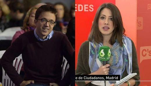 El anunciado romance entre Íñigo Errejón y la periodista Glòria Mena