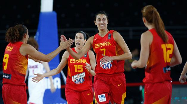 Eurobasket 2015: difíciles rivales para las 'chicas de oro' en la segunda fase