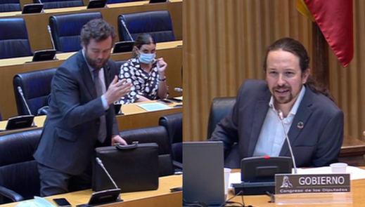 Pablo Iglesias se enzarza ahora con Espinosa de los Monteros tras insinuar que Vox quiere