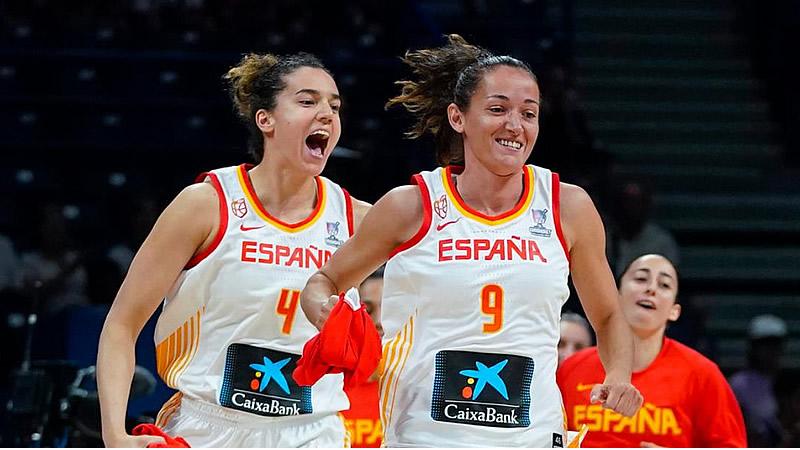 España reina de nuevo en el baloncesto europeo (86-66 Francia)