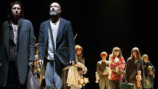 'Éxodo', un teatro que duele