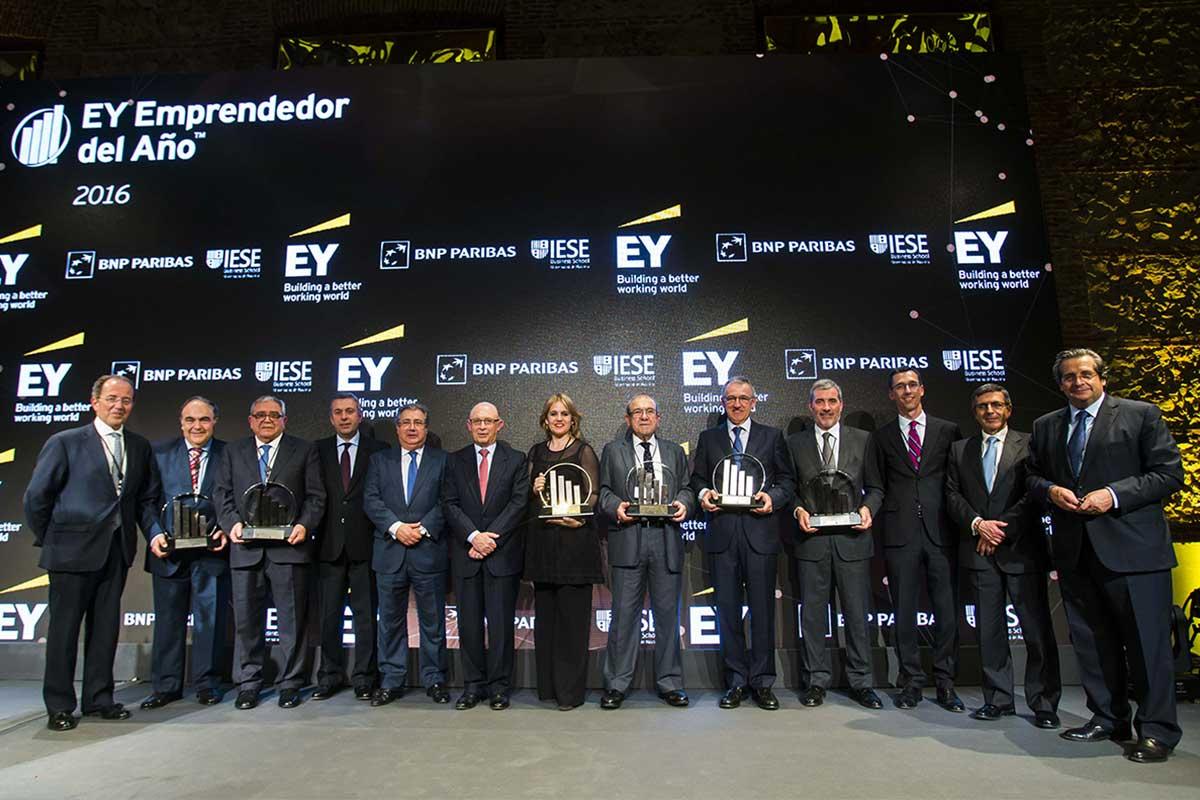 Antonio Luque, presidente de Dcoop, Premio EY a la Internacionalización
