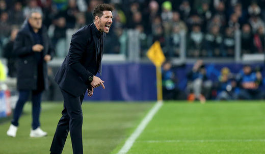 Simeone, pese a perder ante la Juve 1-0: