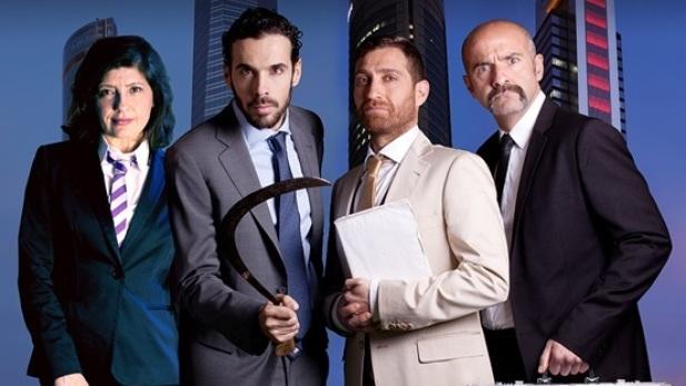 'Famélica', de Juan Mayorga, con dirección de Jorge Sánchez, una sátira en el escenario del Lara sobre el mundo de la empresa