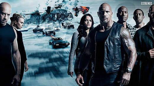 'Fast & Furious 8' el estreno más taquillero de la historia