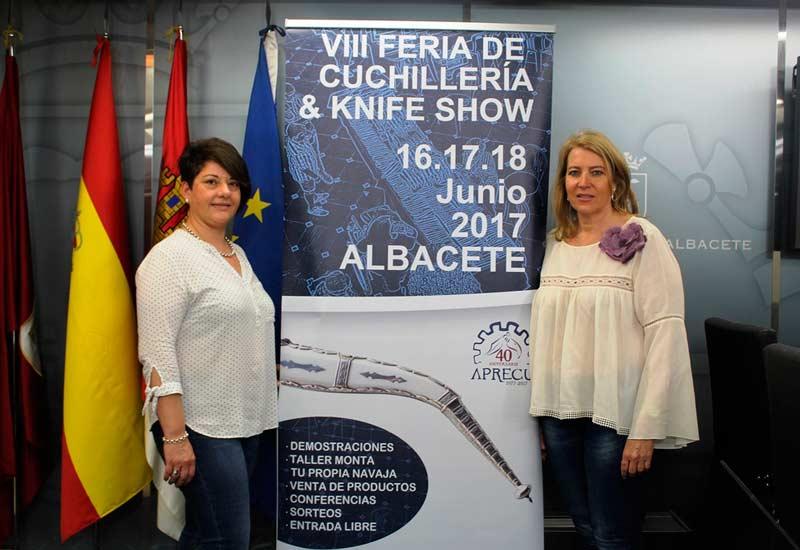 Acto de presentación de la VIII Feria de Cuchilleria. Fuente Ayto de Albacete