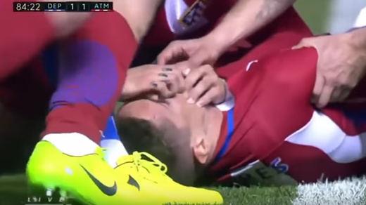 Así fue el gran susto de Fernando Torres (vídeo)