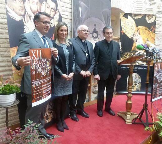 El XII Festival de Órgano de Toledo arrancará el 2 de noviembre