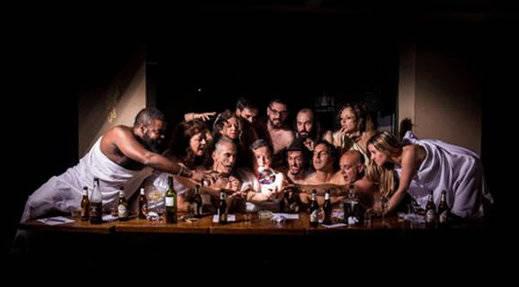 El 'calentario' más desnudo: grandes artistas posan sin ropa para ayudar a la música en directo