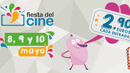 La Fiesta del Cine 2017 se celebrará entre el 8 y el 10 de mayo