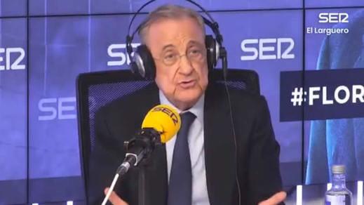 Florentino revela los secretos de la Superliga y asegura que sus socios no han abandonado el proyecto