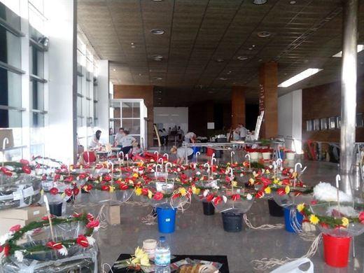 Cien floristas se inspirarán en Santa Teresa para decorar el Casco de Toledo
