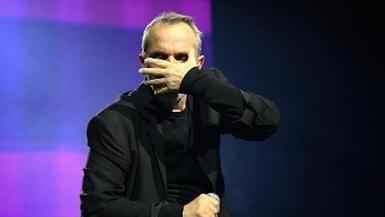 Miguel Bosé se refugia en la música tras la muerte de Bimba
