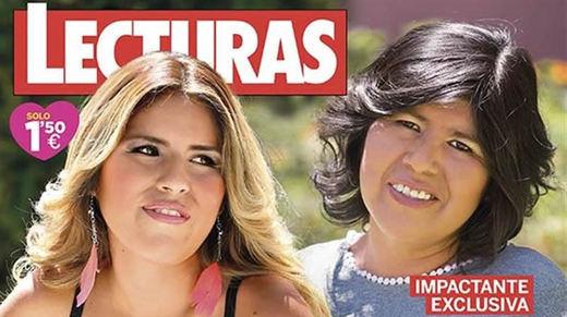La revista 'Lecturas' descubre a la madre biológica de Chabelita