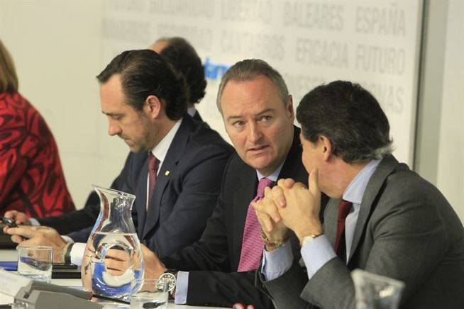 Alberto Fabra no quiere ser presidente del PP valenciano
