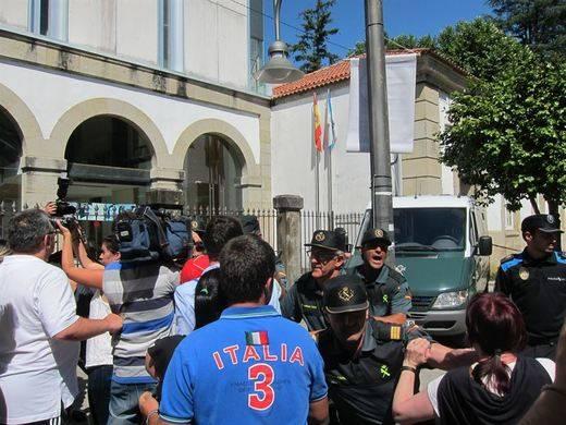 Prisión comunicada y sin fianza para el presunto parricida de Moraña