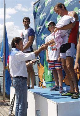 José Ramalho, Walter Bouzán y Álvaro Fernández Fiuza, vencedores del 79º Descenso Internacional del Sella