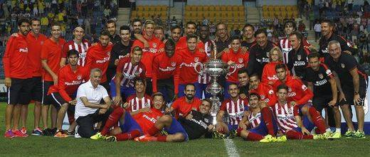 El Atletico Madrid se hace con el Carranza