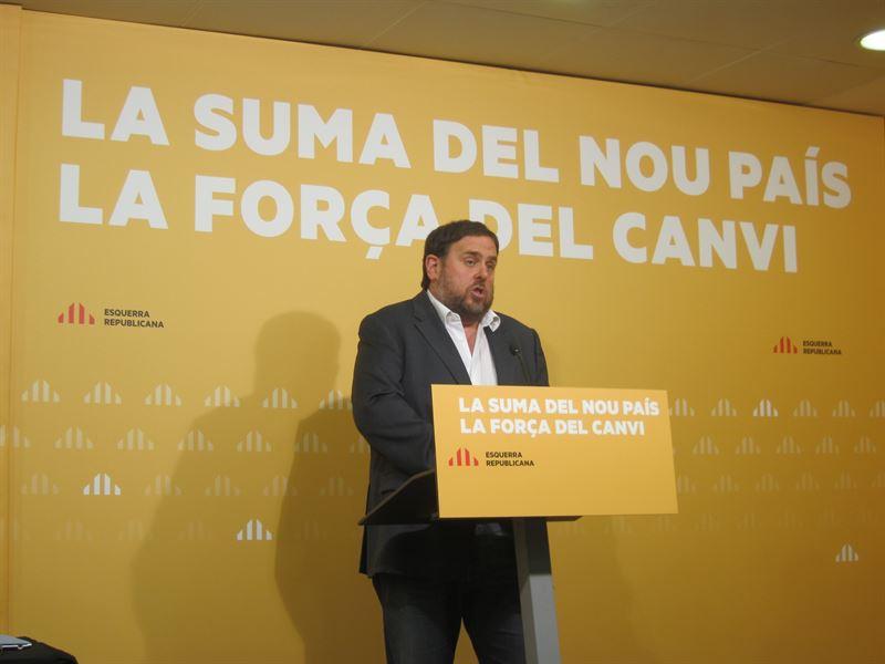 Junqueras pide a sus socios un 'compromiso' contra la corrupción