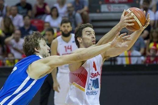 Pau Gasol y Mirotic firman el pleno de España antes del Eurobasket