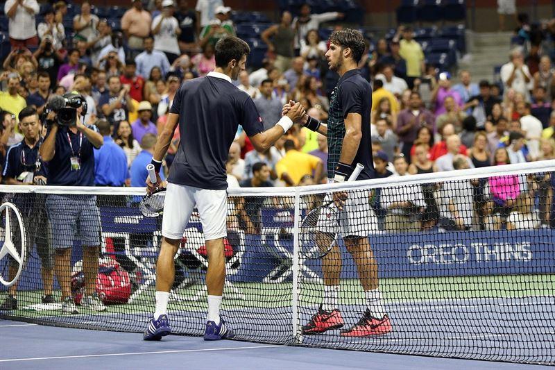 US Open: Feliciano López dio guerra a Djokovic pero cae eliminado en 4 sets