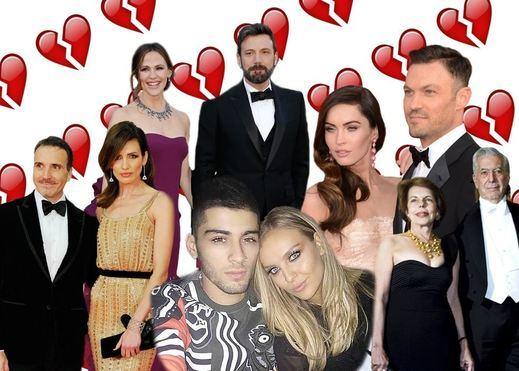 Todas las rupturas sentimentales de los famosos de este verano