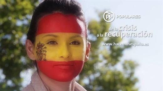 Ya estamos en 'campaña': el PP presenta un vídeo donde España es una moribunda que sale ahora del hospital