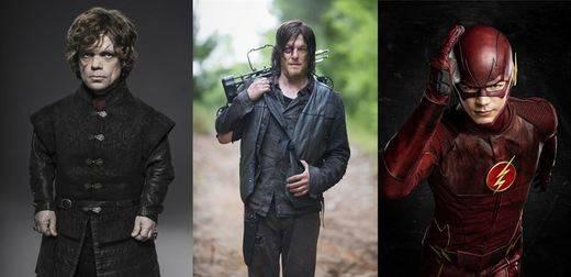 Las 10 series de televisión más descargadas de 2015