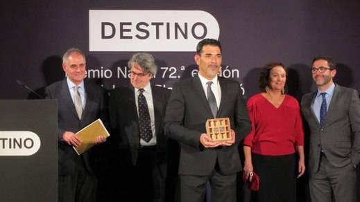 Víctor del Árbol, ganador del Premio Nadal con la novela 'La víspera de casi todo'