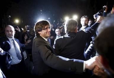 Puigdemont pone fecha exacta al chantaje: refer�ndum el 17 o 24 de septiembre de 2017