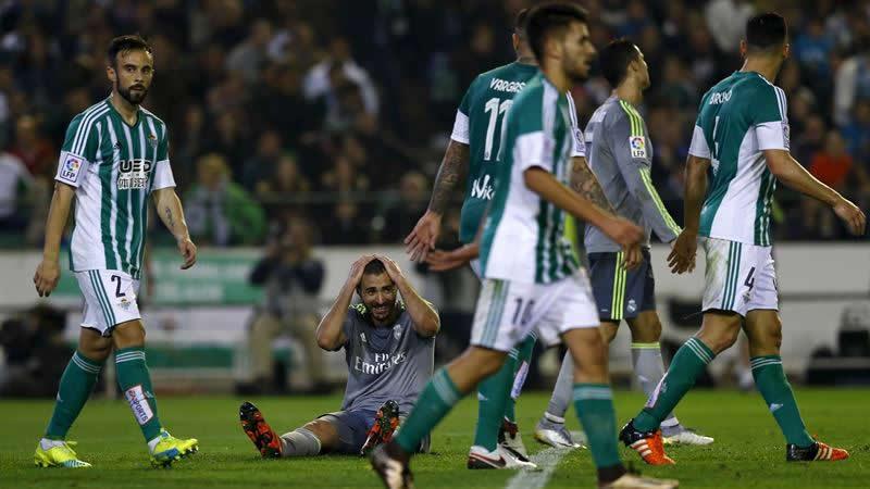 Sin Benítez también pincha el Madrid: 1-1 ante el Betis y casi adiós a la Liga