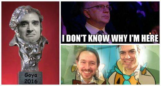 Los mejores memes de la gala de los Goya 2016