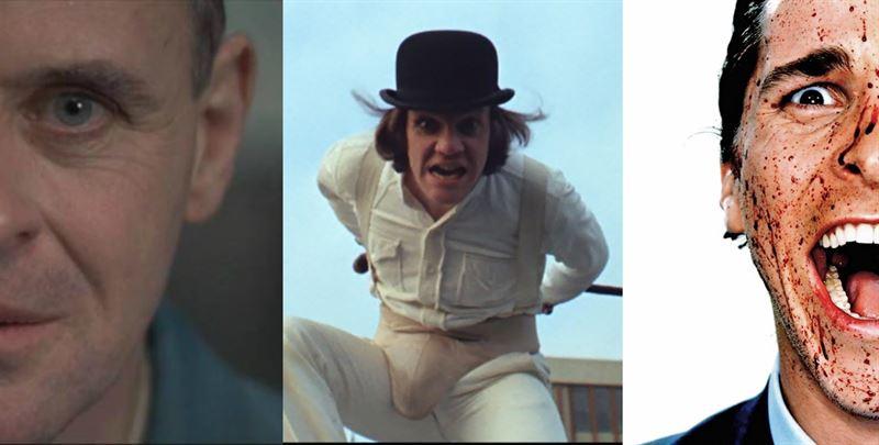 Los mejores psicópatas de cine