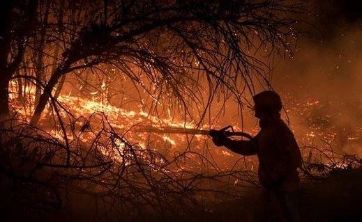 El guardia civil que provocó 20 incendios en Madrid, un caso de piromanía sexual: