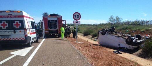 5 muertos en un grave accidente de furgoneta entre Lorca y Águilas (Murcia)