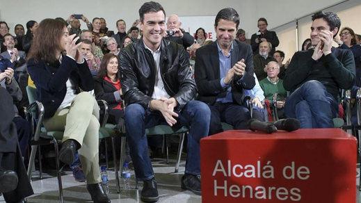 Sánchez avisa a Podemos, IU... y a los suyos: no apoyar su pacto con Ciudadanos es votar 'sí' a Rajoy