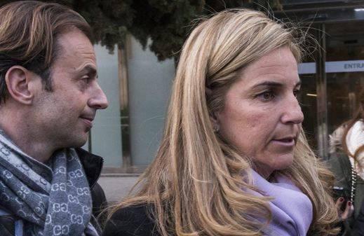 Arantxa Sánchez Vicario, tras el funeral de su padre: