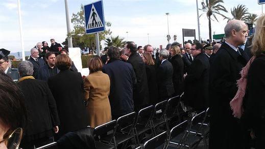 Puigdemont y Rajoy, encuentros en una primera fase: juntos en el homenaje a las víctimas de Germanwings