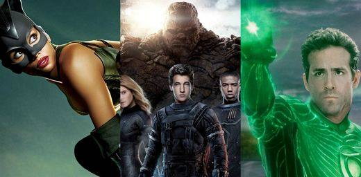 Posiblemente, las 10 peores películas de superhéroes
