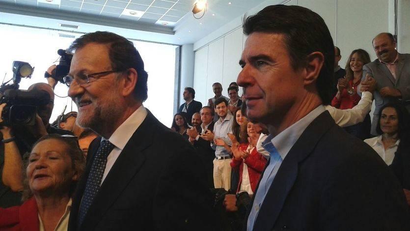 Soria, 'un buen amigo' y un ejemplo para Rajoy