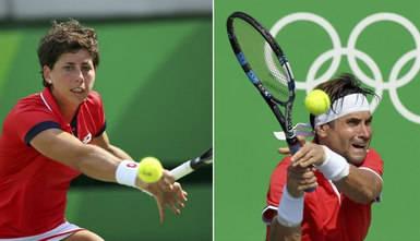 La lluvia canceló toda la jornada del miércoles de tenis donde Nadal iba a hacer 'triplete' de partidos