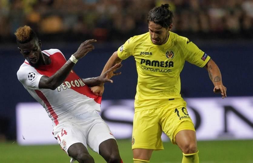 El Villarreal casi se despide de la Champions tras caer 1-2 ante el Mónaco